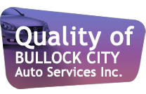 Quality of  Bullock City Auto Services Inc.
