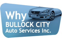 Why Bullock City Auto Services Inc.